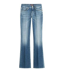7 for all mankind | Distressed Bootcut Jeans Gr. 24