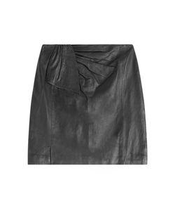 Steffen Schraut | Campus Leather Skirt Gr. 34