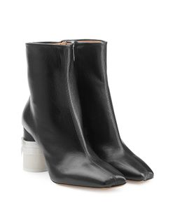 Maison Margiela | Leather Ankle Boots Gr. 36