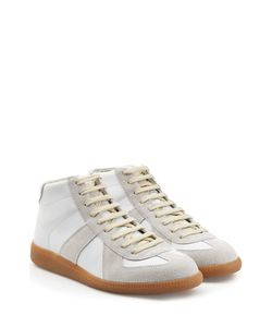 Maison Margiela | Leather-Suede Sneakers Gr. 40