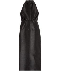 Emilia Wickstead | Halterneck Dress With Silk Gr. 6