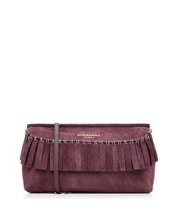 Burberry Prorsum | Suede Fringed Clutch Gr. One Size
