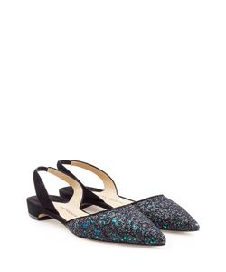 Paul Andrew | Suede Slingbacks With Glitter Gr. 36