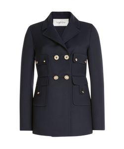 Valentino   Wool-Silk Jacket Gr. 38