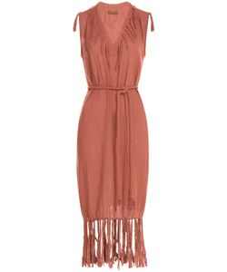 Caravana | Cotton Fringe Dress Gr. One Size