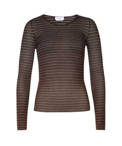 Sonia Rykiel | Sheer Striped Top Gr. 36