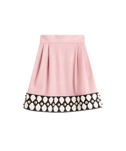 Olympia Le-Tan | Embellished Wool Skirt Gr. 34