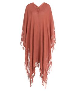 Caravana | Fringed Cotton Kaftan Gr. One Size