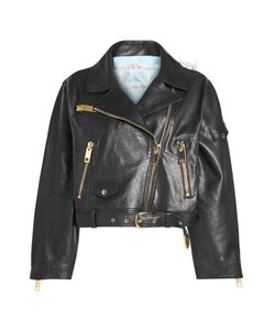 Natasha Zinko | Cropped Leather Jacket Gr. Fr 36