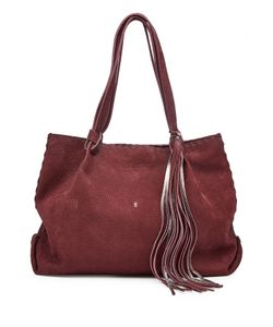 Henry Beguelin | Suede Tote With Leather Tassel Gr. One Size