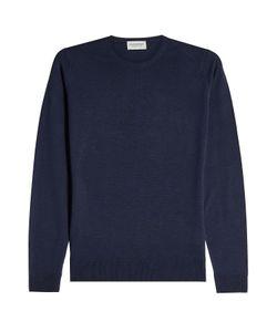 John Smedley   Wool Pullover Gr. L