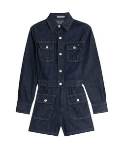 Alexa Chung for AG | Loretta Denim Playsuit Gr. Xs