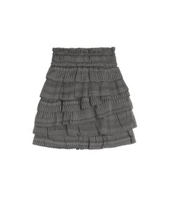 Iro | Delia Silk-Cotton Mini Skirt Gr. 34