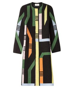 Peter Pilotto | Printed Coat With Wool And Angora Gr. Xs