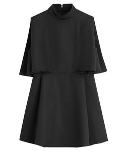 Valentino | Virgin Wool Cape Top Gr. 38