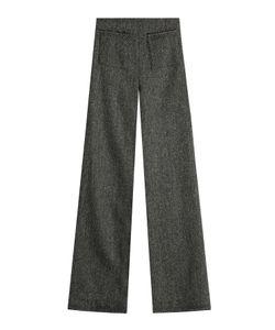 Isa Arfen   Wide Leg Wool Pants Gr. Uk 8