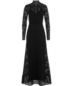 Missoni | Floor-Length Dress With Sheer Inserts Gr. 38