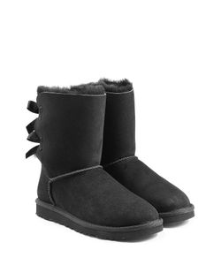 UGG Australia | Bailey Bow Suede Boots Gr. 5