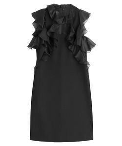 Giambattista Valli | Virgin Wool Dress With Ruffles Gr. 38