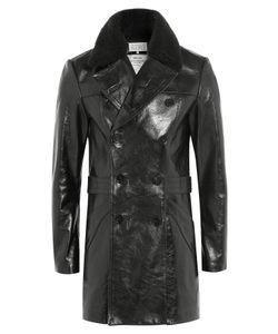 Maison Margiela | Leather Coat Gr. 48