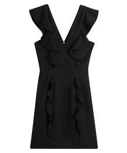 The Kooples | Ruffled Wool Mini Dress Gr. 34