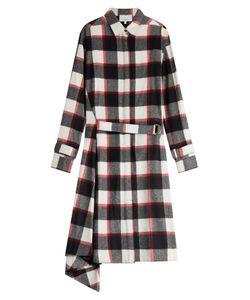 3.1 Phillip Lim | Wool-Angora Plaid Shirt Dress Gr. 0