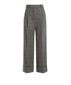 3.1 Phillip Lim | High Waist Cropped Wool Trousers Gr. 0