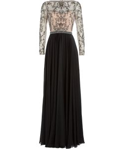 Catherine Deane | Embellished Silk Floor Length Gown Gr. Uk 10