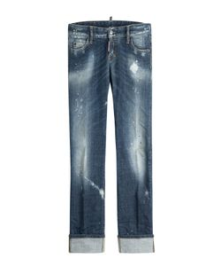Dsquared2 | Distressed Cropped Jeans Gr. It 40
