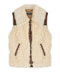 Polo Ralph Lauren | Lamb Leather And Shearling Vest Gr. S