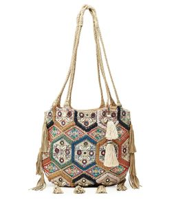 Christophe Sauvat | Embellished Tote With Tassels Gr. One Size