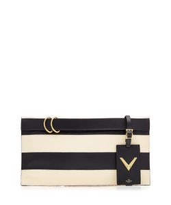 Valentino | My Rockstud Leather Clutch Gr. One Size