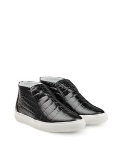 Pierre Hardy | Embossed Leather Sneakers Gr. 36