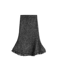 Alexander McQueen | Flared Skirt With Wool And Cashmere Gr. Xs