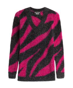 BOUTIQUE MOSCHINO | Zebra Print Pullover Gr. 38