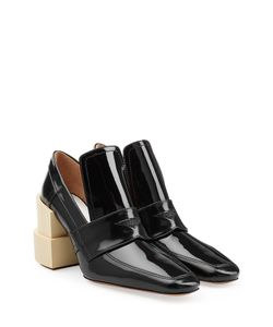 Maison Margiela | Patent Leather Pumps With Statement Heel Gr. 38
