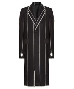 Kenzo | Striped Wool Coat Gr. 48