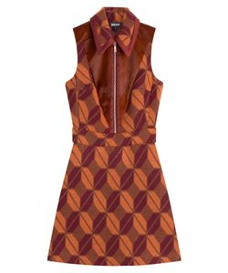 Just Cavalli | Printed Dress With Wool Gr. 38
