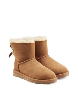 UGG Australia | Sheepskin Bailey Mini Knit Bow Boots Gr. 5