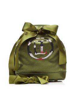 Olympia Le-Tan | Embellished Silk Bucket Bag Gr. One Size