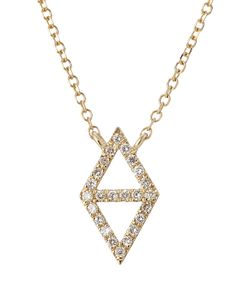 Lito | 14-Karat Gold And Diamond Necklace Gr. One Size