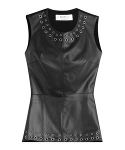 Bailey 44 | Faux-Leather Top Gr. M
