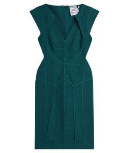 Hervé Léger | Cap Sleeve Bandage Dress Gr. S