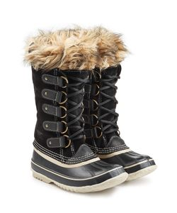 Sorel | Joan Of Artic Tall Boots With Faux Fur Gr. 7
