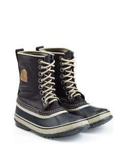 Sorel | Waterproof Canvas/Rubber Boots Gr. 7