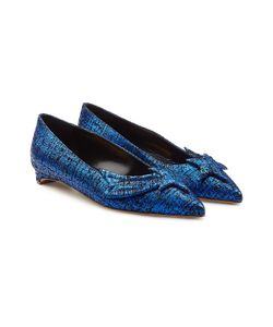 Rupert Sanderson | Tweed Leather Ballerinas Gr. It 40
