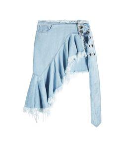 Marques Almeida   Mini Wrap Denim Skirt Gr. Uk 8