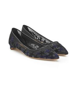Rupert Sanderson | Embroidered Mesh Ballerinas Gr. It 38