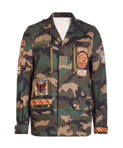 Valentino | Camouflage Jacket With Patches Gr. Eu 48