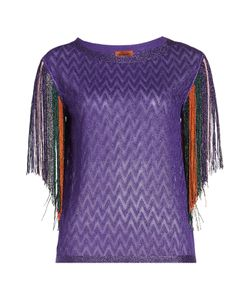 Missoni | Fringed Top With Thread Gr. It 42
